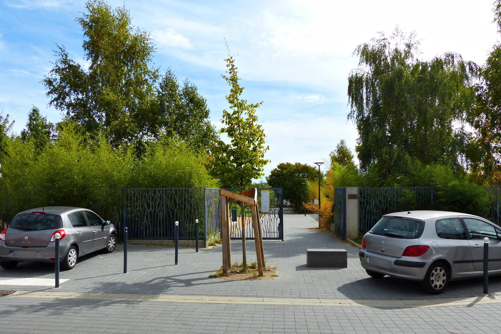 Tourcoing, Jardin Jean Moulin - Entrée