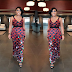 Rita Dominic steps out in lovely costume made dress