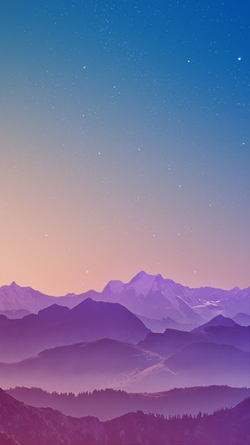 Mountain Range Wallpaper Galaxy Note 7