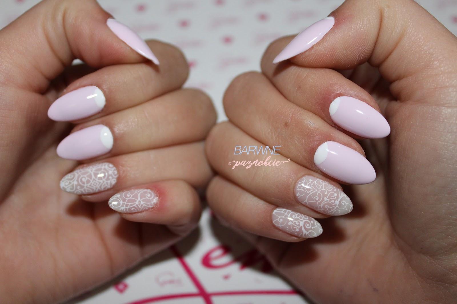 Semilac 157 - Little Rosie | Delikatny manicure
