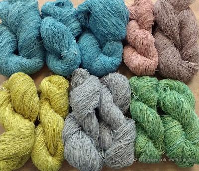 corso tintura naturale lino canapa cotone corso filati sostenibili
