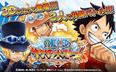 Download One Piece Thousand Storm Mod APK v1.9.3 Update Free (1 Hit Ko + Anti-root nulled)