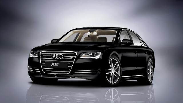 Walpaper mobil Audi hitam