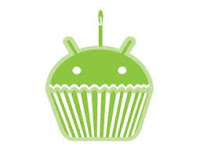 android Cupcake logo