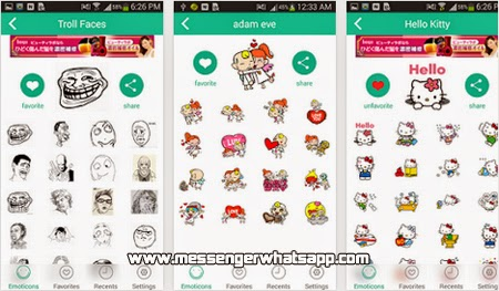 Envia emoticones divertidos con Emoticons Sticker for WhatsApp