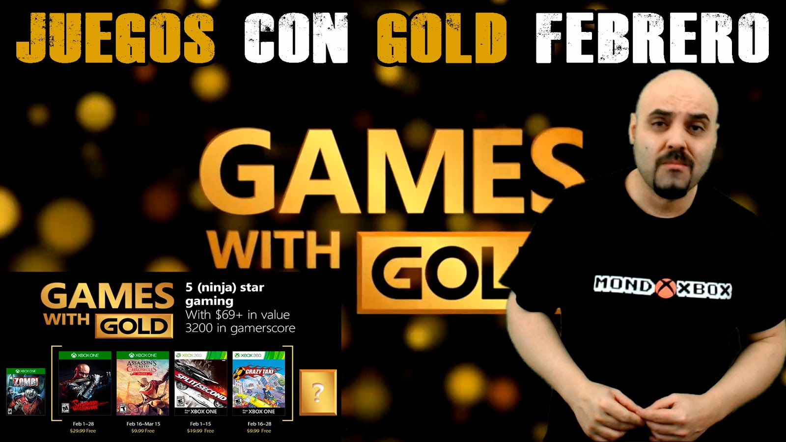Mondoxbox Juegos Con Gold Febrero 2018 Games With Gold February