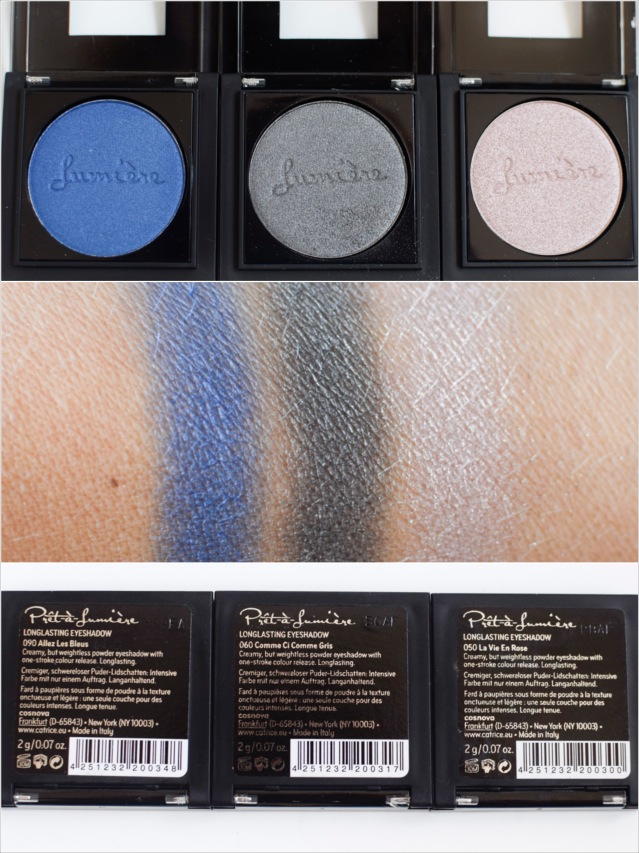 catrice Pret a Lumiere Eyeshadows Swatch Herbst Winter 2016