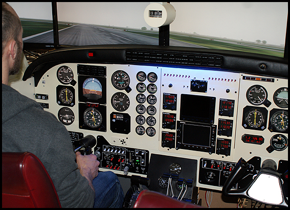 Ruscool Electronics: King Air C90 Synthetic Trainer