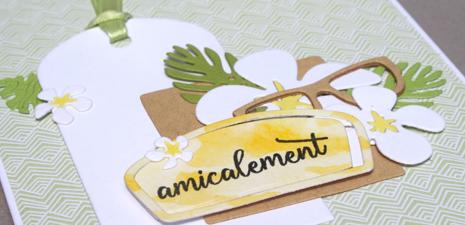 Scrap of me: Amicalement ⎢Sketch Little Scrap (semaine 1)