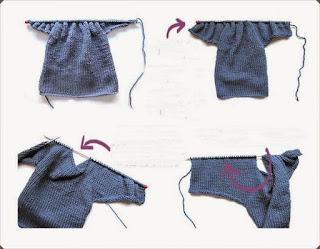 Kruvaze Örgü Bebek Hırkası Yapımı, Resimli Açıklamalı   3