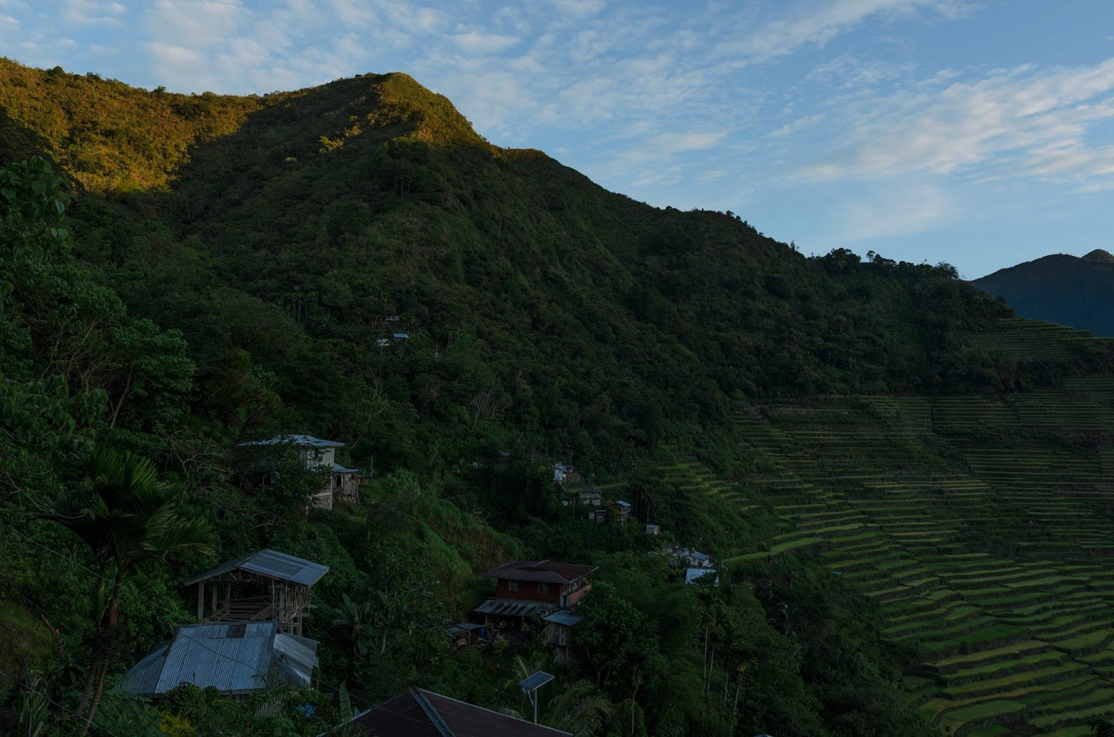 8th Wonder of the World Batad Rice Terraces Ifugao Cordillera Administrative Region Philippines Light Comes In