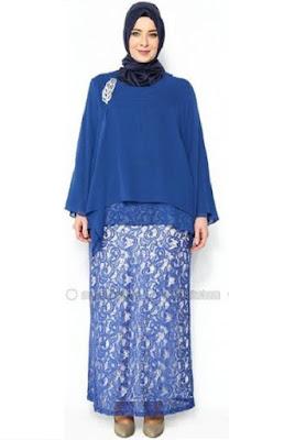 Model Baju Muslim Untuk Orang Gemuk Lebaran
