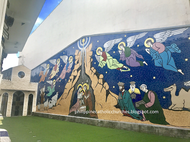 LOOK: The Beautiful Mosaic Arts of Holy Family Parish in Makati City