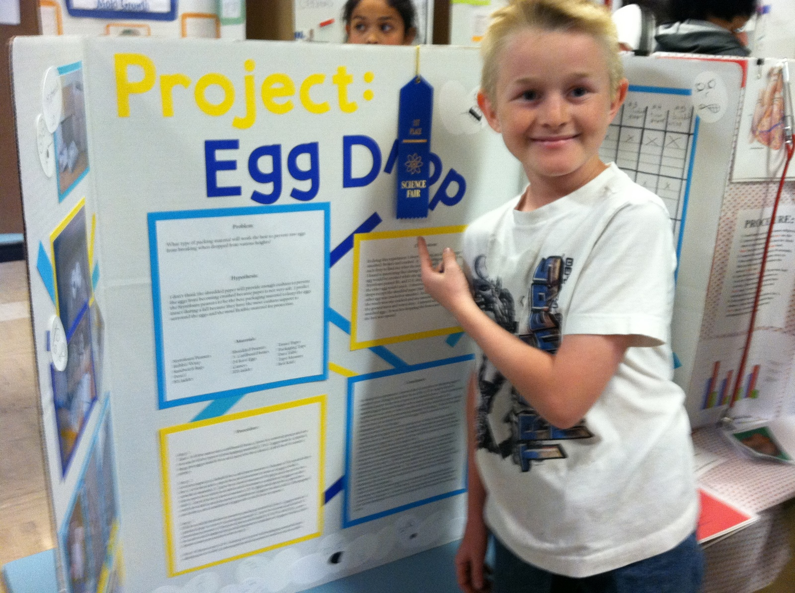 egg drop science truthful project analysis paper
