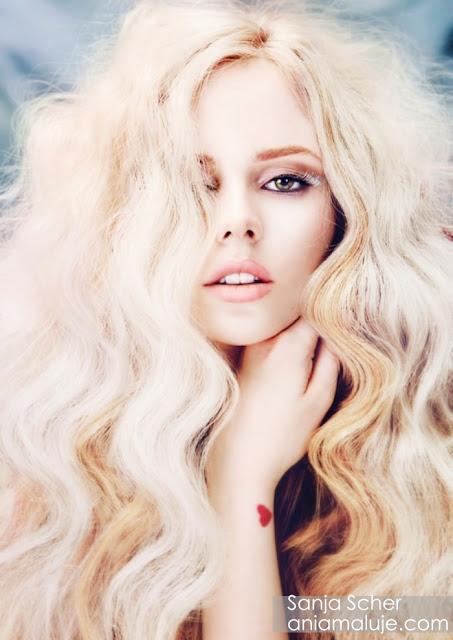 pastelowy blond