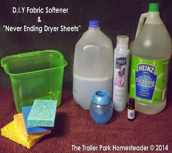 The Trailer Park Homesteader Homemade Cleaning Product