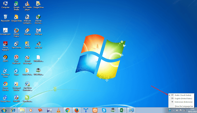 Cara menambah font arab di windows 7