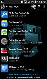3 Aplikasi Backup dan Share APK Android Yang Gratis, Tanpa Root & Iklan