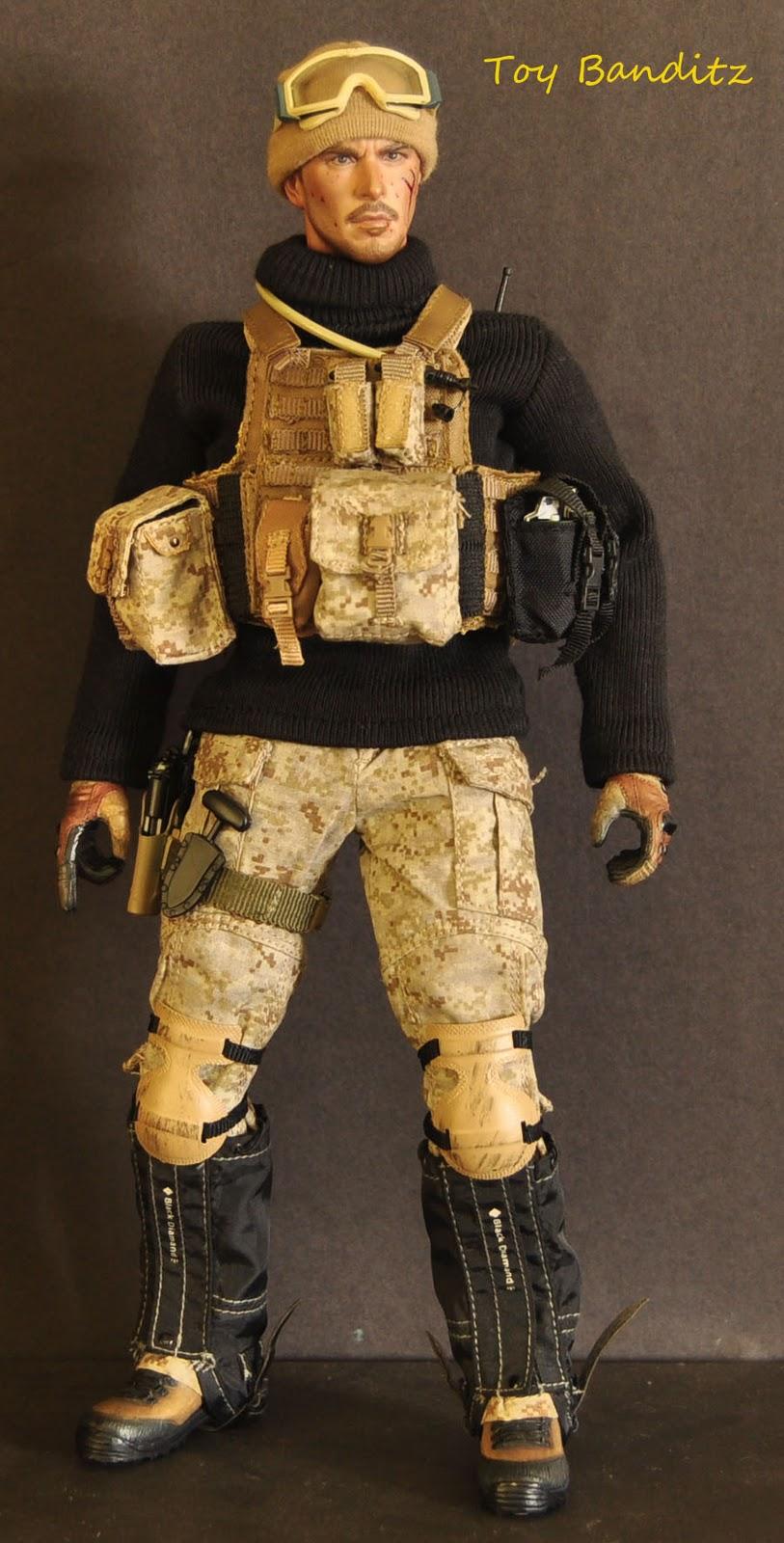 Toy Banditz Navy Seal Gunner Kitbash