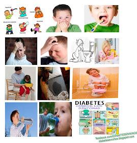 síntomas de diabetes infantil niños