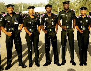 Checkout These Cute Pictures of  Nigeria Policemen, Women at Police Academy