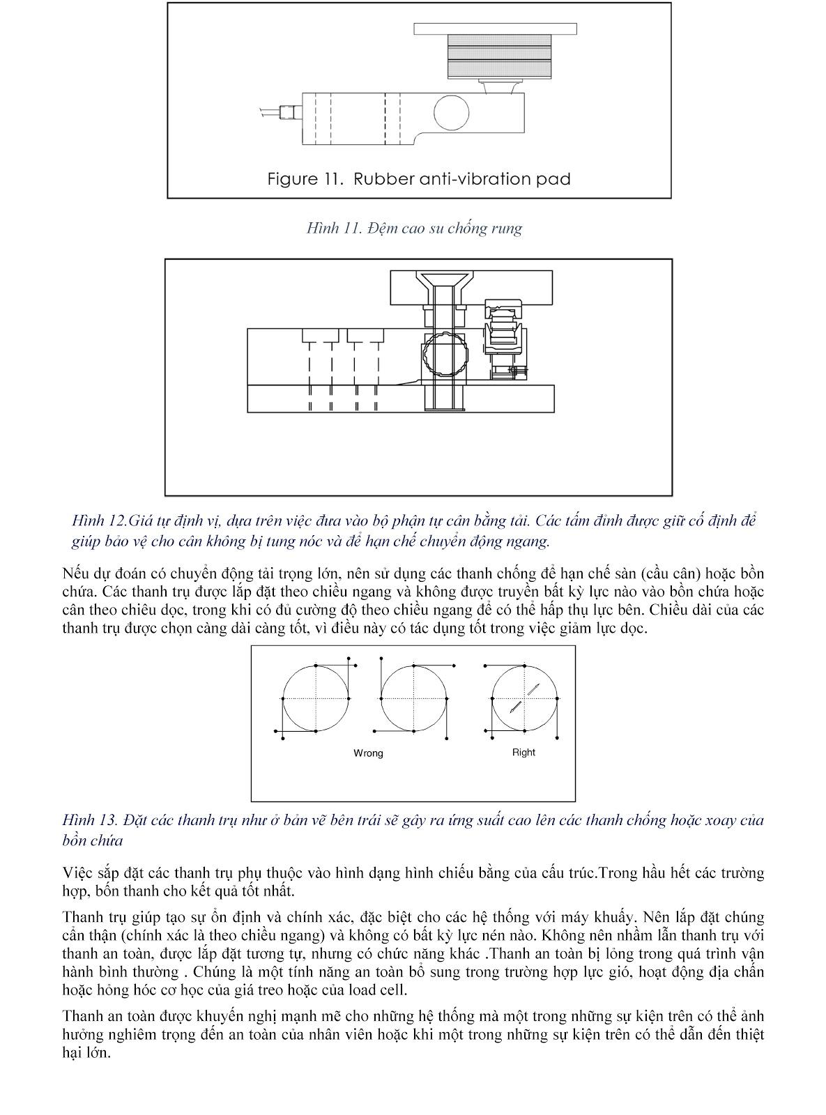 Lưu ý kỹ thuật về Load cell và module cân điện tử (tt) 11