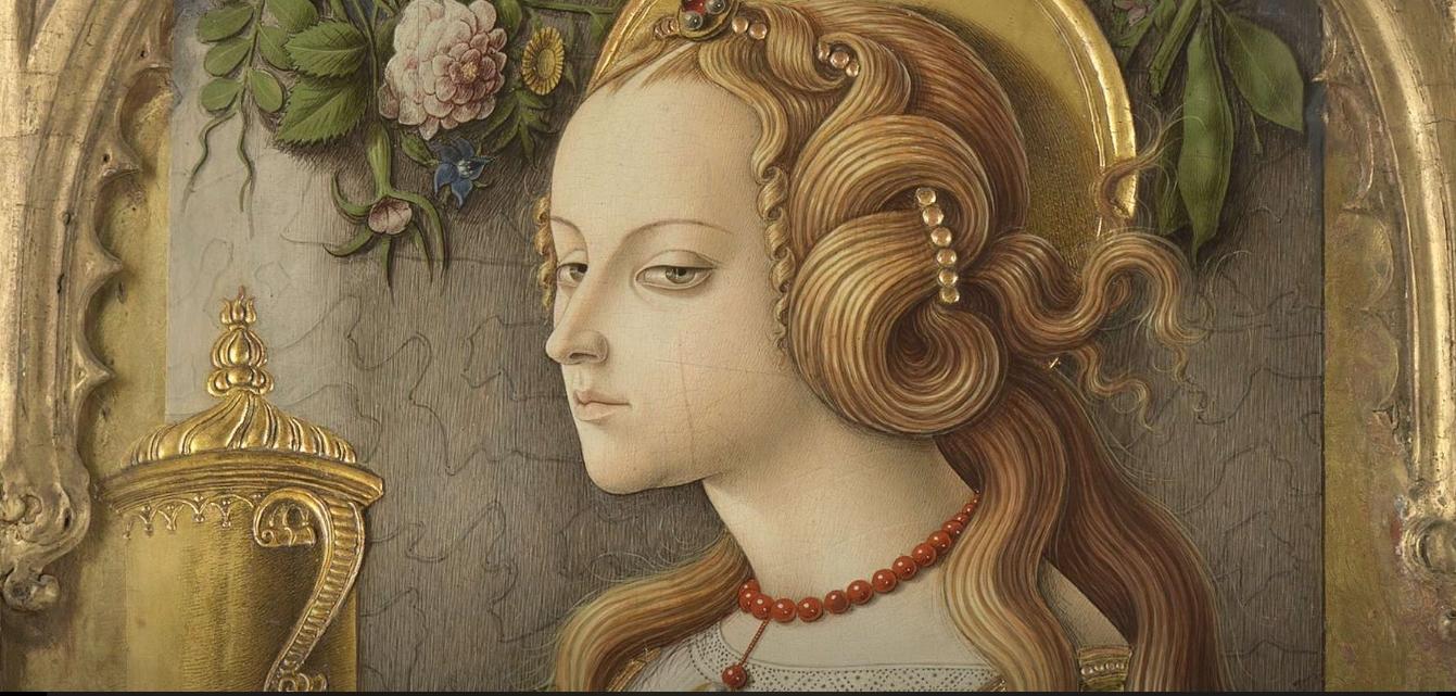 Pintura de Carlo Crivelli ~ Santa Maria Madalena