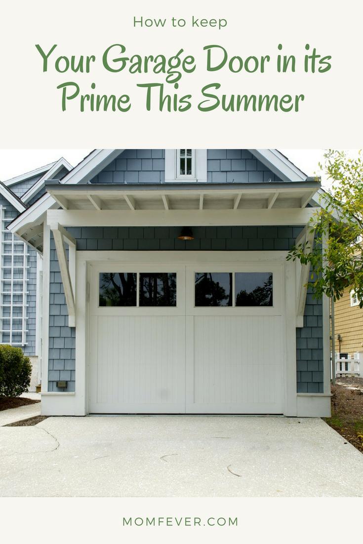 home maintenance: garage doors