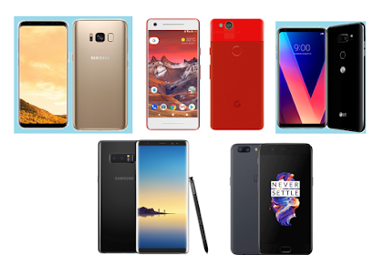 Top Five Best Android Phones 2017