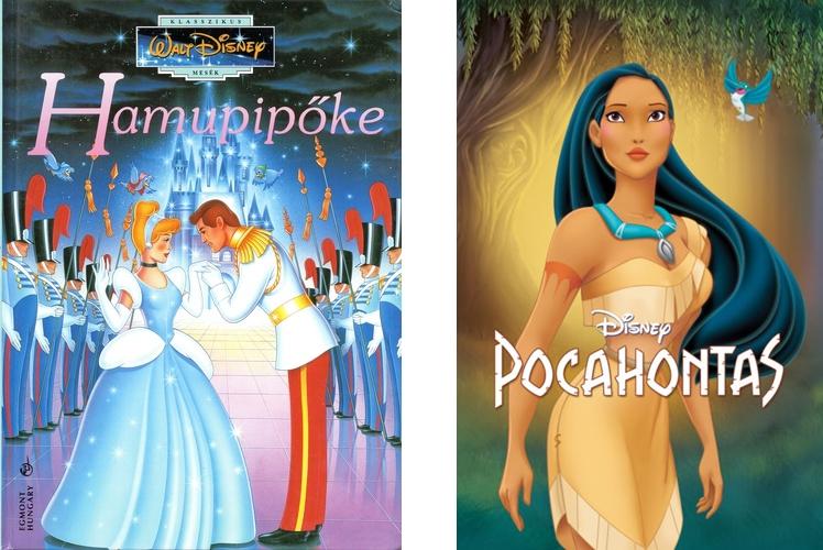 Hamupipőke Pocahontas