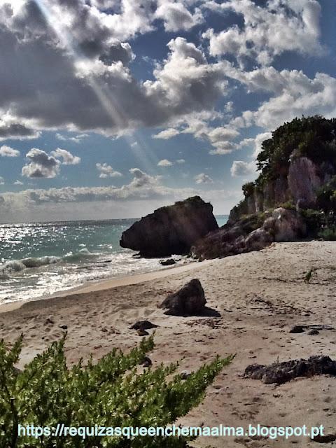 Praia de Tulum- Ruínas