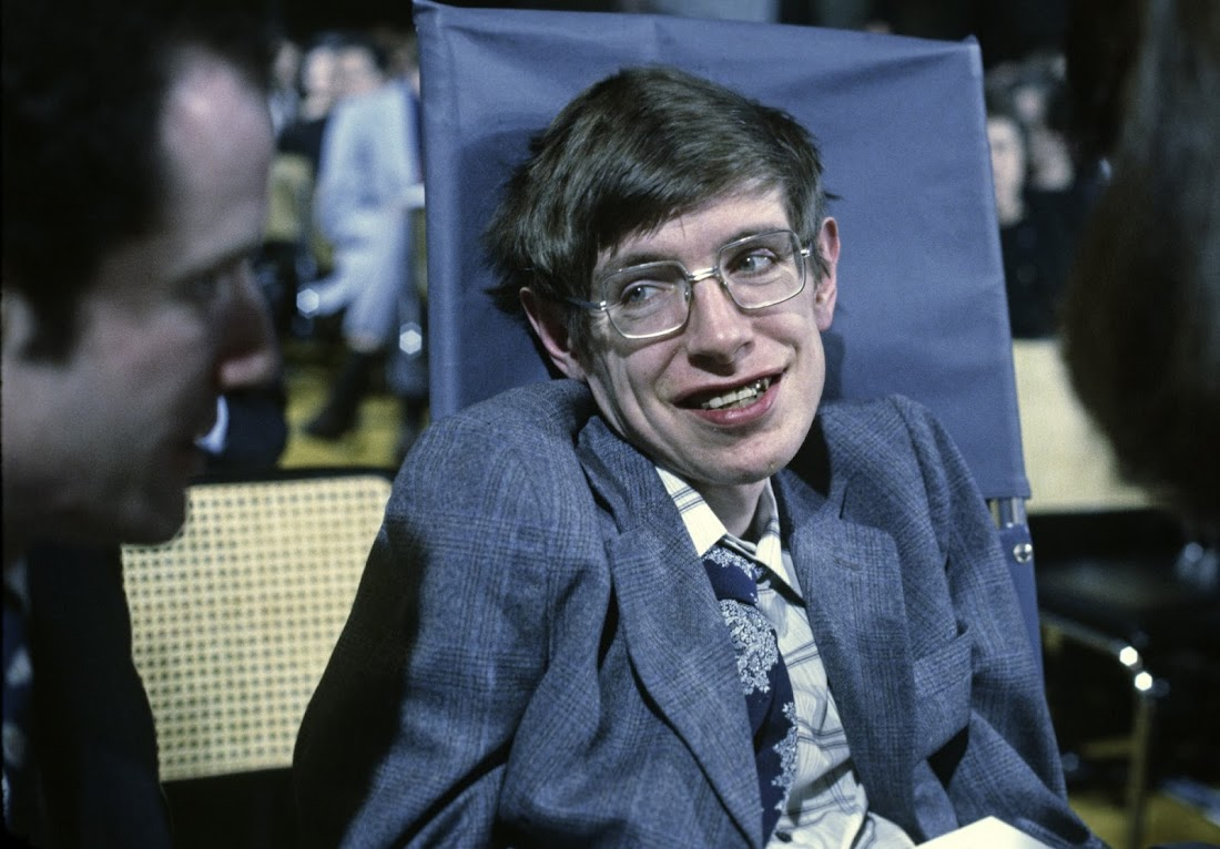 Stephen Hawking ở Princeton, New Jersey vào tháng 10 năm 1979. Hình ảnh: Santi Visalli/Getty Images.