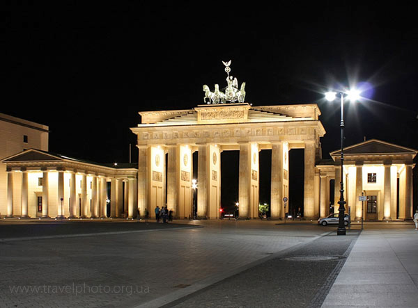 БерлинскиеБранденбургскиеворота