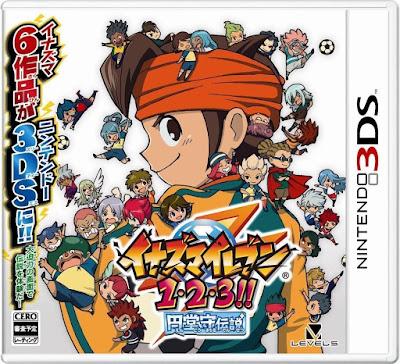 Inazuma Eleven 1-2-3 Endou Mamoru Densetsu CIA 3DS JAP