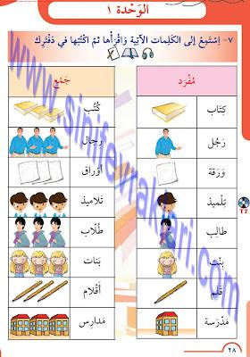 8. Sınıf Arapça Meb Yayınları Ders Kitabı Cevapları Sayfa 28