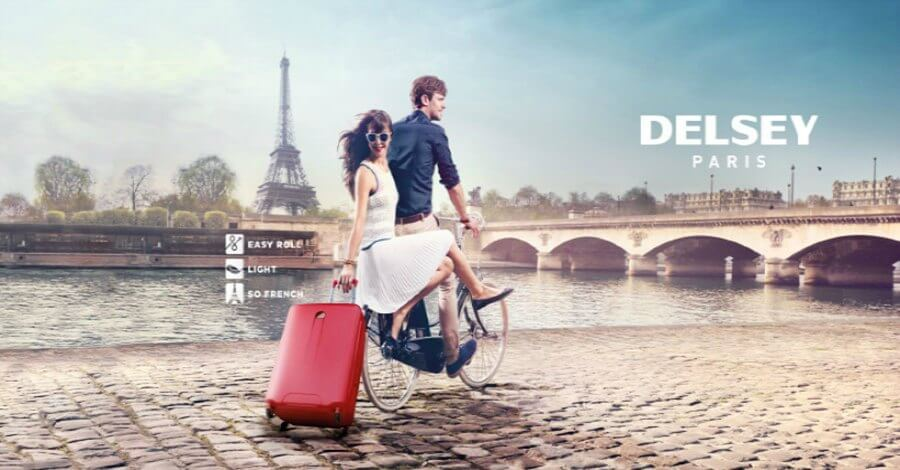 Delsey Paris Luggage Brand