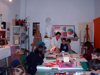 Taller de Christmas Pop-Up