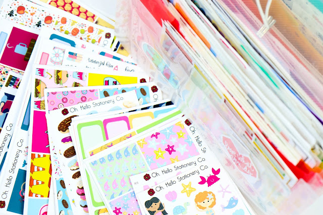 How to Maintain a Manageable Sticker Collection