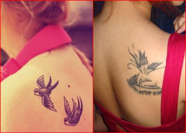 Oberarm Tattoos für Frauen