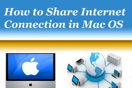 Share Internet Connection in Mac OS