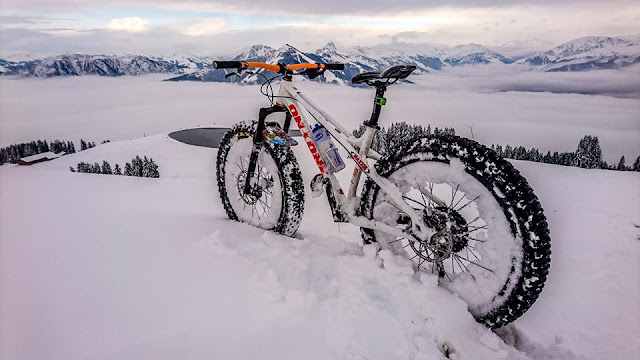 Wintertouren Mountainbike
