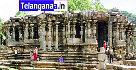 Thousand Pillars Temple in Telangana