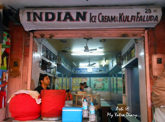 Indian Kulfi Icecream, Jaipur Street Food, Bapu Bazaar