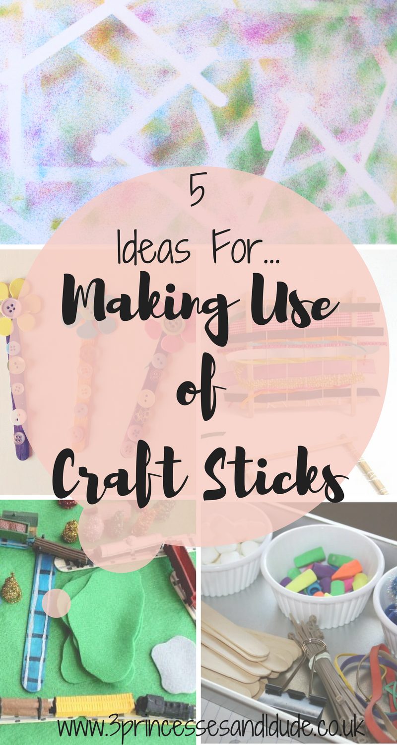 Craft Stick Activities