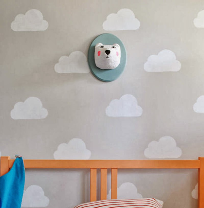 7 sencillos diy 39 s para decorar tus paredes maria victrix - Decorar pared infantil ...