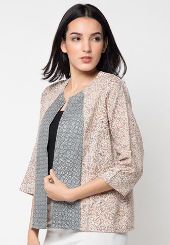 Model Baju Bolero Batik Panjang Terbaru Dan Teranyar