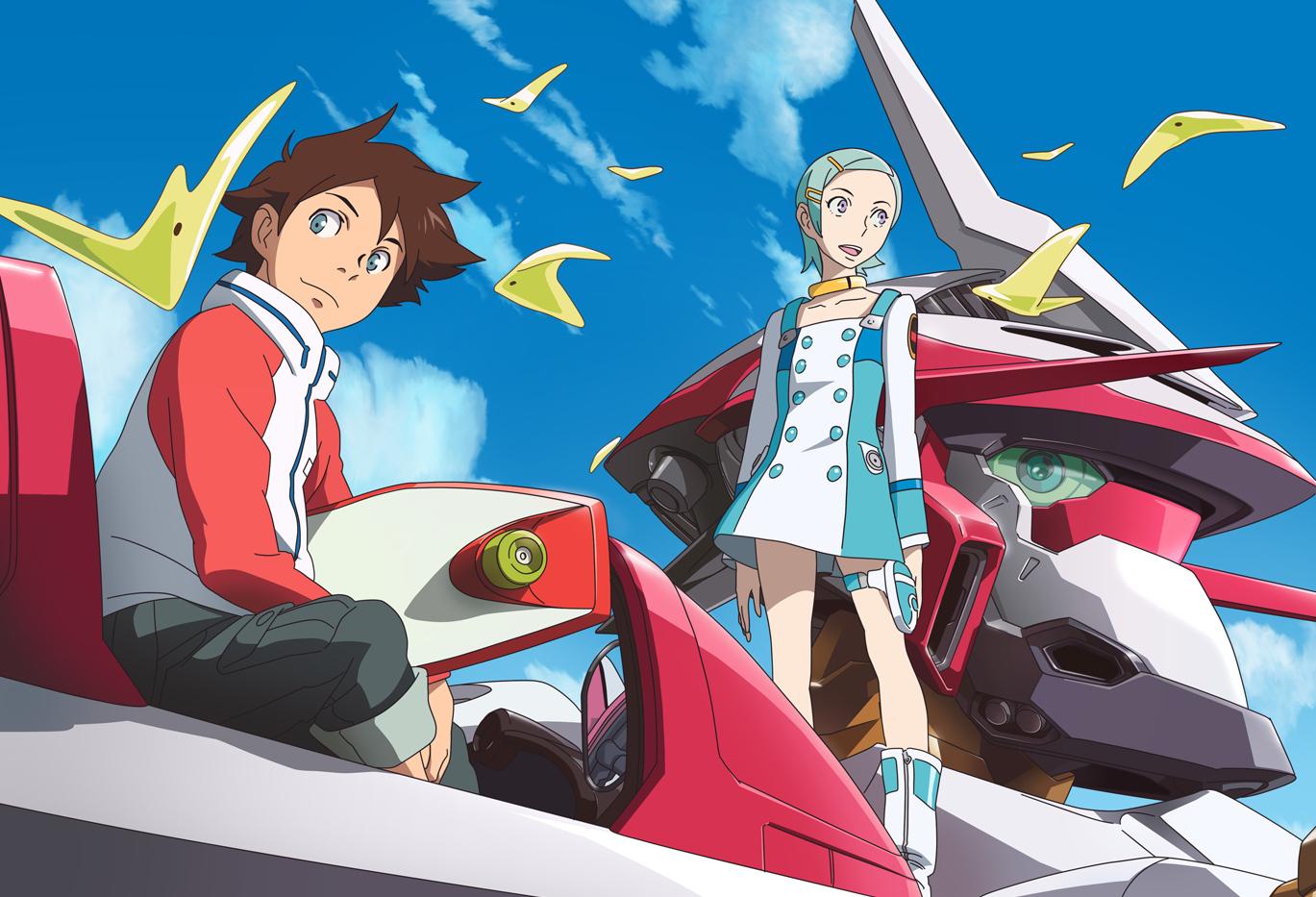 anime mecha romance terbaik
