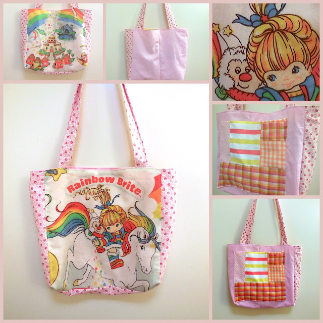 rainbow bright bag