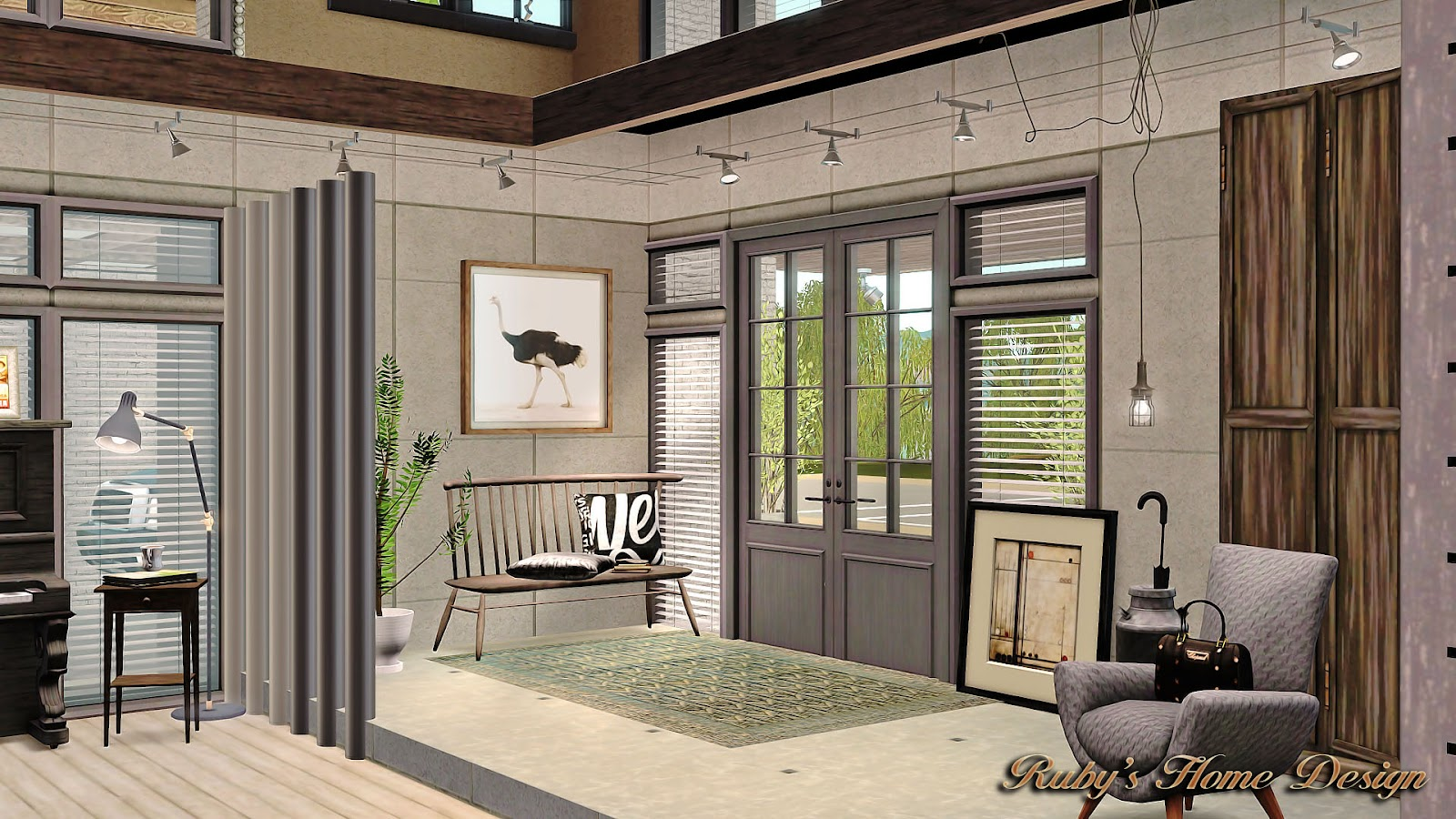 Sims3 Soho Loft Ruby S Home Design