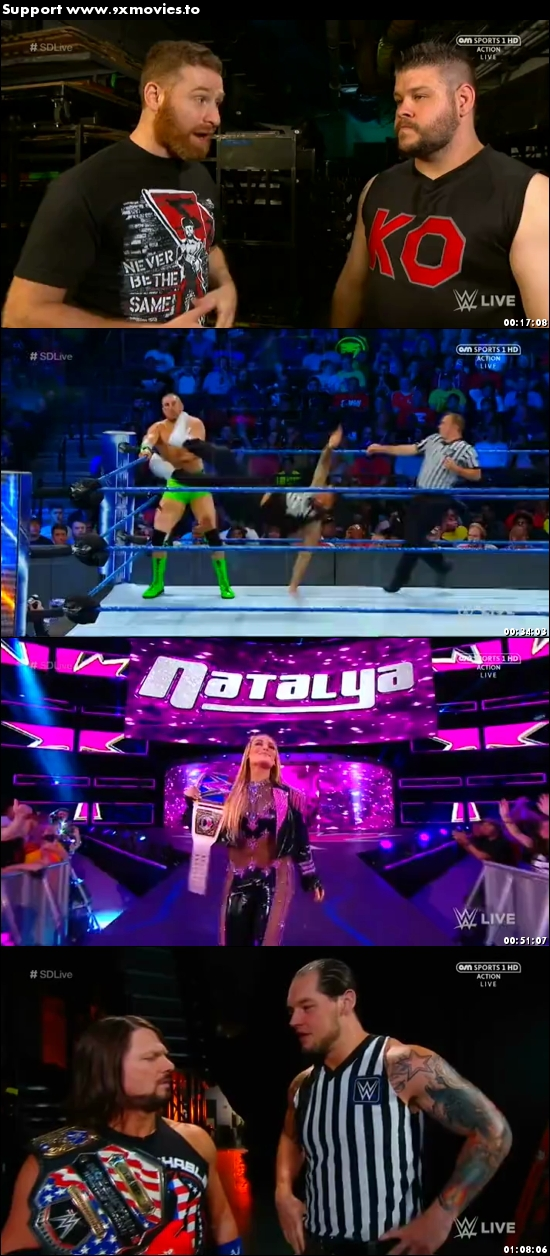 WWE Smackdown Live 22 Aug 2017 HDTV 480p 300MB